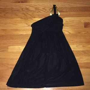 Dresses & Skirts - NWT Little black Asymmetrical Dress